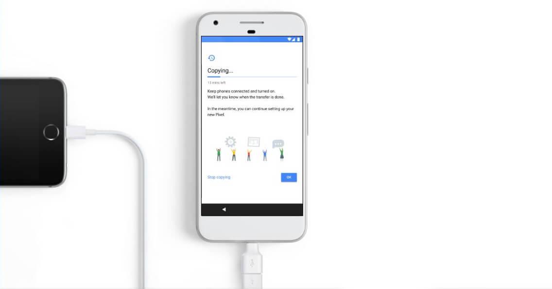 Google Pixel Quick Switch
