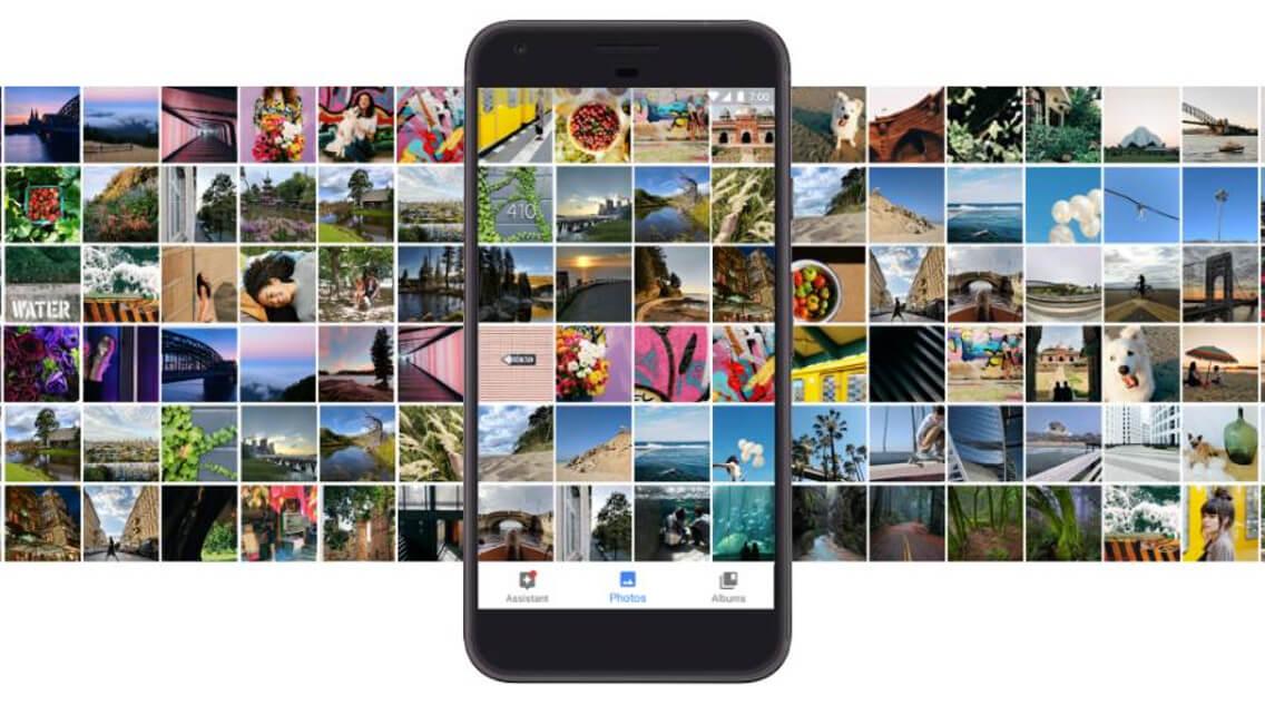 Google Pixel Unlimited Storage